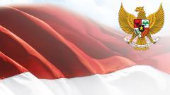 Indosport - Bendera Indonesia.