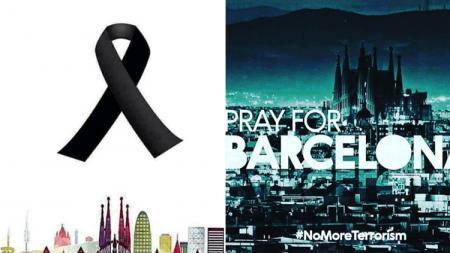 Ucapan simpati atas teror di kota Barcelona. - INDOSPORT