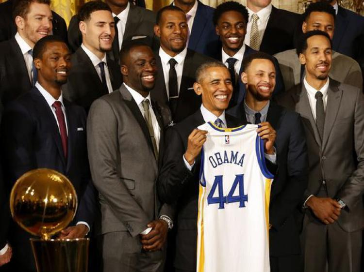 Barack Obama Copyright: Geoff Burke, USA TODAY Sports