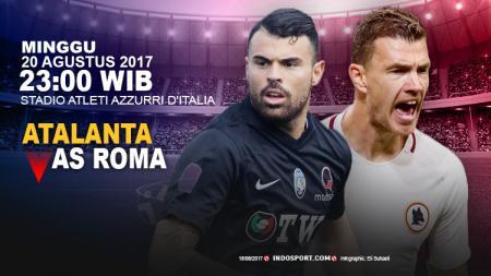 Prediksi Atalanta vs AS Roma. - INDOSPORT