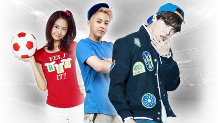 Pesepakbola yang fans dengan K-pop. - INDOSPORT