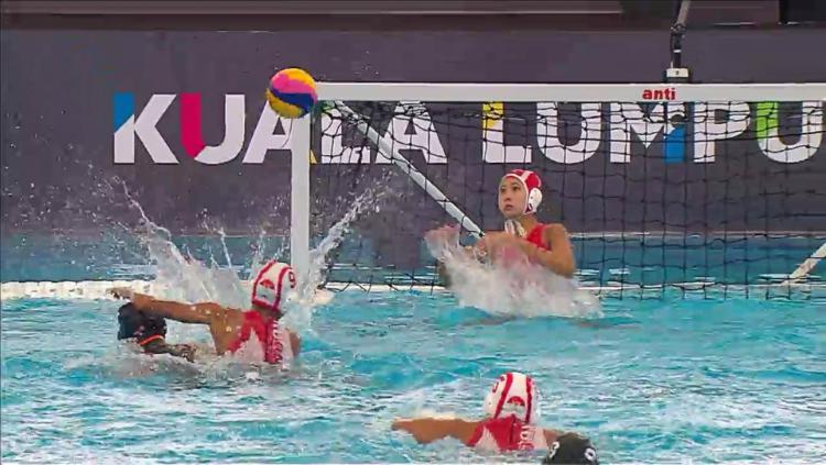 Timnas Polo Air Putri Indonesia berlaga di SEA Games 2017. Copyright: INDOSPORT