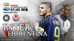 Prediksi Inter Milan vs Fiorentina.