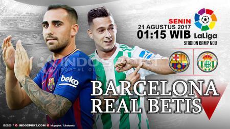 Prediksi Barcelona vs Real Betis. - INDOSPORT