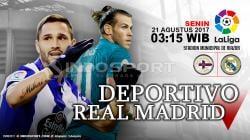Prediksi Deportivo La Coruna vs Real Madrid.