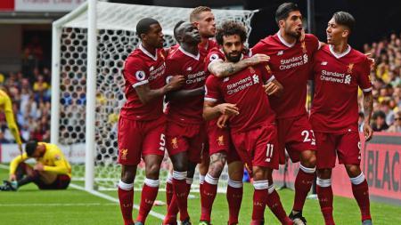 Skuat Liverpool rayakan keber - INDOSPORT