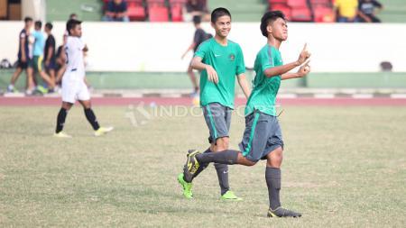 Uji coba Timnas U-16 vs Patriot Candrabhaga Bekasi. - INDOSPORT