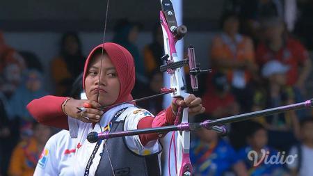 Diananda Choirunisa salah satu atlet panahan Indonesia. - INDOSPORT