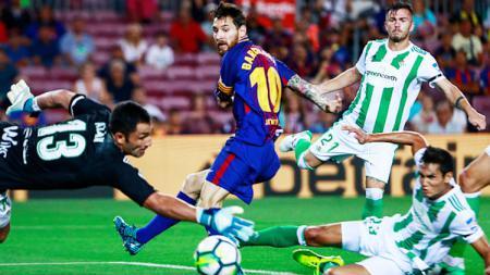 Lionel Messi (Barcelona). - INDOSPORT