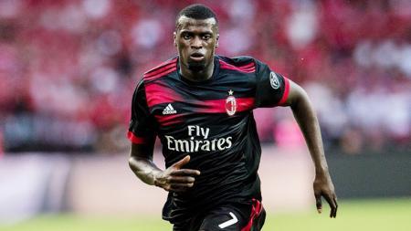 M'Baye Niang kala berseragam AC Milan. - INDOSPORT