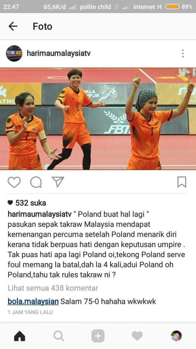 Akun HarimauMalayaTV sengaja sebut Indonesia dengan