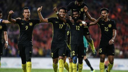 Timnas Malaysia pastikan tiket semifinal SEA Games 2017 cabor sepakbola. - INDOSPORT