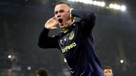 Wayne Rooney, striker Everton. - INDOSPORT
