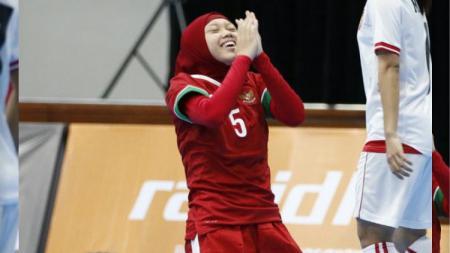 Timnas Futsal Putri mendapatkan kemenangan kedua di SEA Games 2017. - INDOSPORT