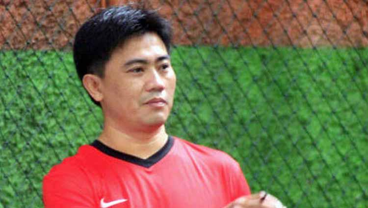 Yaya Sunarya pelatih fisik Persib Bandung. Copyright: Persib.co.id