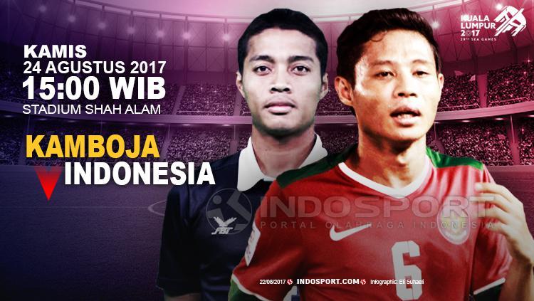 Prediksi Kamboja vs Indonesia. Copyright: Grafis: Eli Suhaeli/INDOSPORT