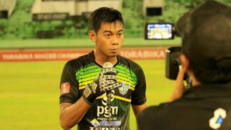 Satria Tama, penjaga gawang Timnas Indonesia. - INDOSPORT