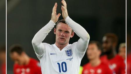 Wayne Rooney, telah memutuskan pensiun dari Timnas Inggris. - INDOSPORT