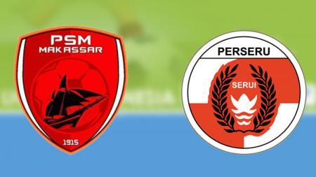 PSM Makassar vs Perseru Serui. - INDOSPORT