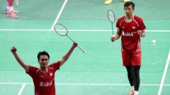 Indosport - Mohammad Ahsan/Rian Agung Saputro.