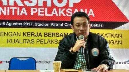 Arief Perdana Kusuma, Ketua Panpel Persija. - INDOSPORT