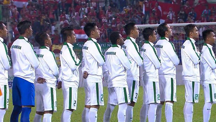 Skuat Timnas Indonesia. Copyright: PSSI