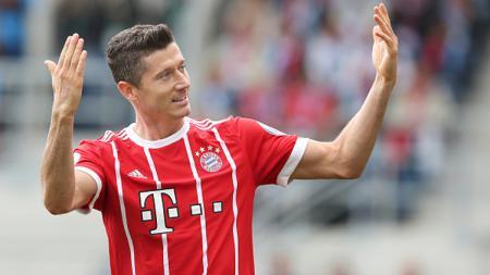 Robert Lewandowski resmi memperpanjang kontrak dengan Bayern Munchen hingga tahun 2023. - INDOSPORT