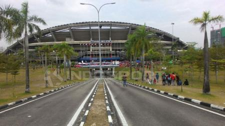 Jelang Piala Asia U-23 2020, Timnas Korea Selatan U-23 baru saja kecewa dengan keadaan lapangan Stadion Shah Alam, Kuala Lumpur, Malaysia. - INDOSPORT