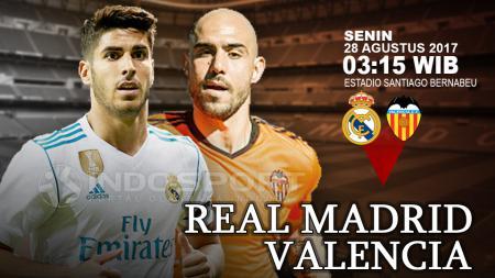 Real Madrid vs Valencia. - INDOSPORT