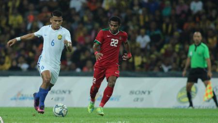 Penampilan Yabes Roni Malaifani bersama Timnas Indonesia U-22. - INDOSPORT