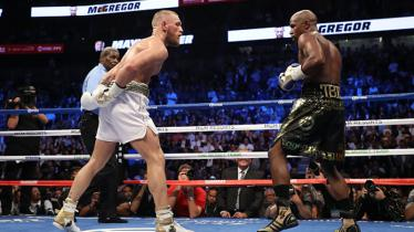 Floyd Mayweather Jr vs Conor McGregor. - INDOSPORT