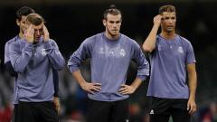 Indosport - Toni Kroos, Gareth Bale, dan Cristiano Ronaldo.