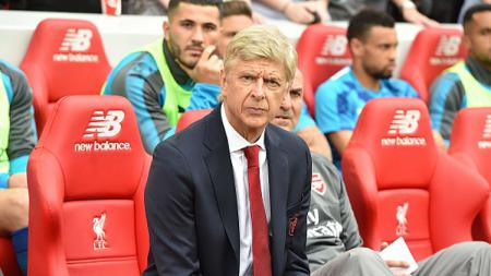 Arsene Wenger, pelatih Arsenal. - INDOSPORT