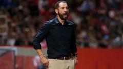 Indosport - Pablo Machin, pelatih Sevilla.