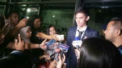 Indosport - Gavin Kwan Adsit tiba di Bandara Soekarno-Hatta.
