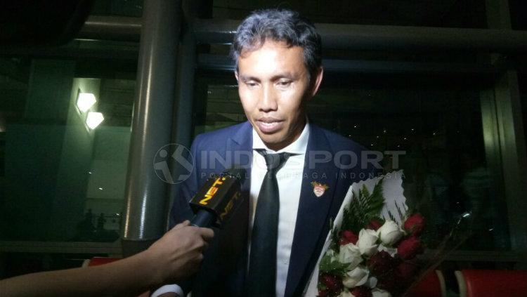 Bima Sakti, Asisten Pelatih Timnas Indonesia. Copyright: Adiyaksa/Indosport