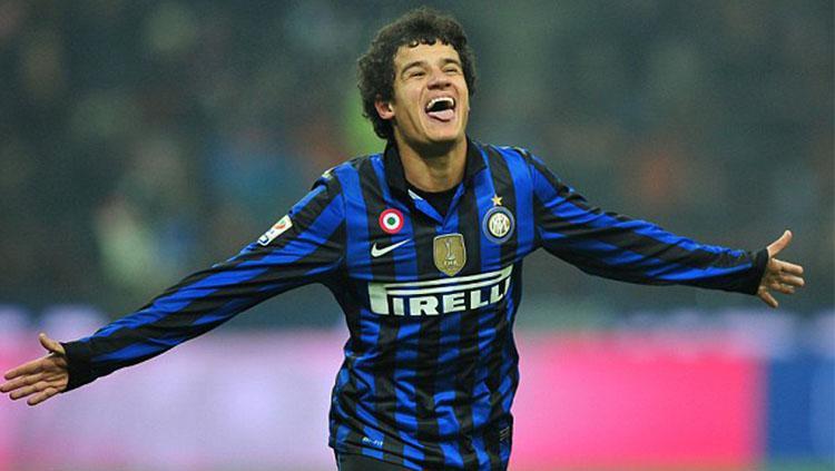 Coutinho saat masih berseragam Inter Milan. Copyright: Getty Images