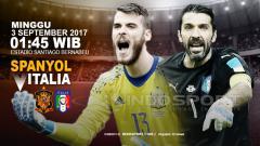 Indosport - Prediksi Spanyol vs Italia.