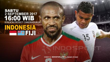 Indonesia vs Fiji. - INDOSPORT