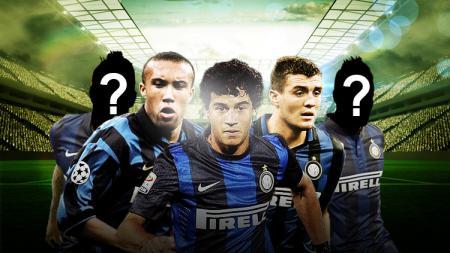 Matias Silvestre, Philippe Coutinho, dan Mateo Kovacic. - INDOSPORT
