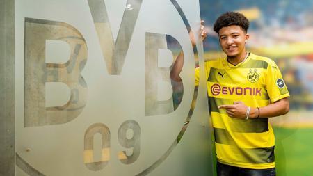 Borussia Dortmund berhasil mengikat salah satu talenta berbakat Inggris. - INDOSPORT