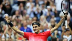 Indosport - Roger Federer.