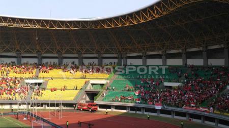 Kondisi Stadion Patriot. - INDOSPORT