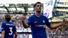 Indosport - Alvaro Morata, striker Chelsea.