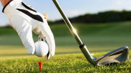Ilustrasi bermain golf. - INDOSPORT