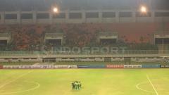 Indosport - Provinsi Gorontalo berencana membangun stadion olahraga bertaraf nasional. Illustrasi: Stadion Pakansari.