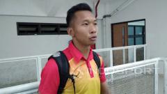 Indosport - Awan Setho, kiper Bhayangkara FC.
