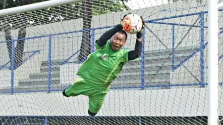 Awan Setho Raharjo baru saja membuat penampilan memukau bersama Bhayangkara FC. - INDOSPORT