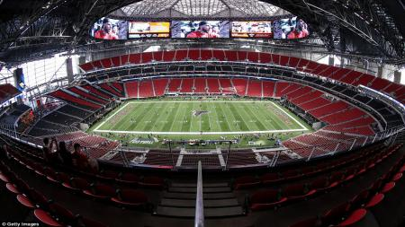 Berikut profil calon venue Piala Dunia 2026 di Amerika Serikat, Stadion Mercedes-Benz. - INDOSPORT