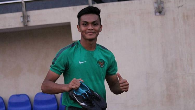 Kapten Timnas Indonesia U-19, Rachmat Irianto. Copyright: Instagram @rachmatirianto